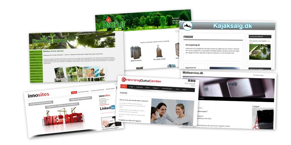 danetech  hjemmesider